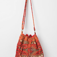 Urban Outfitters - Ecote Kilim Zip-Pocket Shoulder Bag