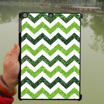 Glitter light green Chevron iPad Case,iPad mini Case,iPad Air Case,iPad 3 Case,iPad 4 Case,ipad case,ipad cover, ipad mini cover ipad air,iPad 2/3/4-190
