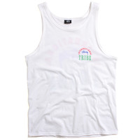 IST Stamp Tank Top White