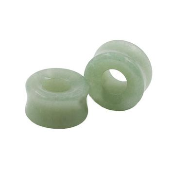 Stone Ear Plugs Hollow Centered