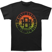 Dirty Heads Men's  Rastagram Slim Fit T-shirt Black Rockabilia