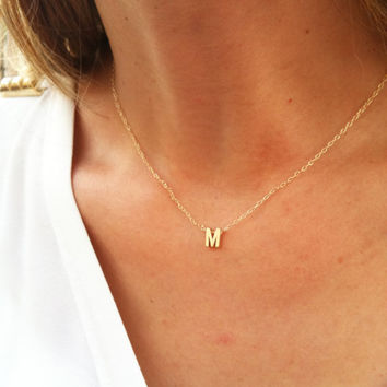 Shop tiny gold initial necklace on wanelo gold initial necklace gold letter necklace tiny initial necklace delicate gold necklace aloadofball Choice Image