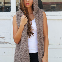 Alaskan Babe Hooded Vest