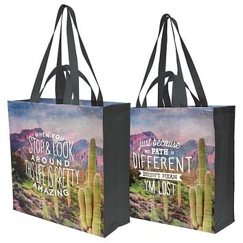 When You Stop & Look Around This Life Is Pretty Amazing Market Tote Bag