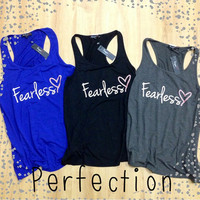 Fearless tank top
