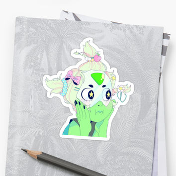 'CUTE PERIDOT' Sticker by ghoulkiss