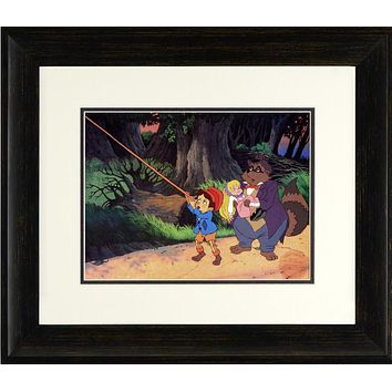 Pinocchio, Skalaway Raccoon & Twinkle - Limited Edition Offset Lithograph by Filmation Associates