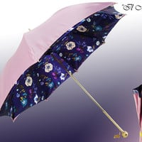 Marchesato Pink Floral Umbrella