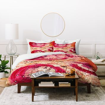 Ingrid Padilla Three Of A Kind Duvet Cover
