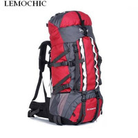 High quality Large Capacity 100L Mountaineering Sports Travel Bags Outdoor Sports Camping Hiking Climbing man rucksack backpack