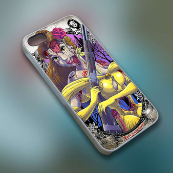 BuTum - Disney Beauty And The Beast Zombie Princess - Cell Phone Custom - iPhone 4 4s 5 5s 5c, Samsung S3 S4