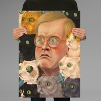 Poster Print Bubbles Trailer Park Boys Wall Decor Canvas Print - halawatani.com