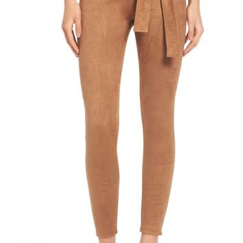 David Lerner Elliot High Rise Tie Waist Leggings | Nordstrom