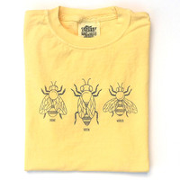 Honey Bees Long Sleeve Tee