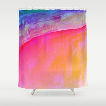 IZZY Shower Curtain by Ducky B