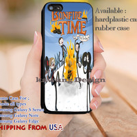 Bonfire Time Adventure Time Fall Out Boy iPhone 6s 6 6s+ 5c 5s Cases Samsung Galaxy s5 s6 Edge+ NOTE 5 4 3 #cartoon #anime #adventuretime #fob dl12