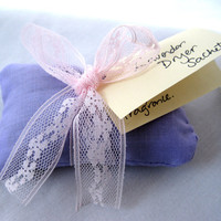 Handmade Organic Lavendar Dryer Sachet by darlingtoniavintage