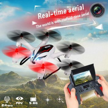 Wltoys Q929 Mini Drone Headless Mode Ddrones 6 Axis Gyro Quadrocopter 2.4GHz 4CH Dron One Key Return RC Helicopter Aircraft Toys
