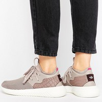 adidas Originals Dusky Purple Tubular Entrap Sneakers at asos.com