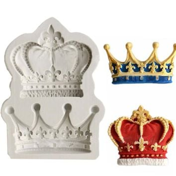 Crowns 3D Silicone Cake Mold