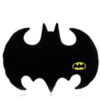 Cute Batman Logo Shape Pillow