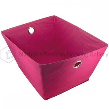Fabric Covered Home Storage Box OF870
