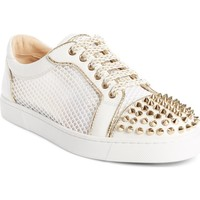Christian Louboutin Vieira Spiked Low Top Sneaker (Women) | Nordstrom
