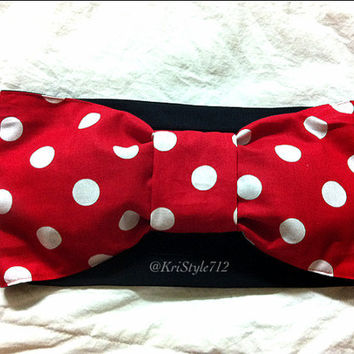 Minnie Mouse Bandeau by KriStyle712 on Etsy