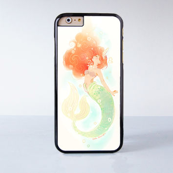 Little Mermaid Plastic Case Cover for Apple iPhone 6 6 Plus 4 4s 5 5s 5c