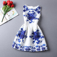 Country Time Summer Vintage Dress
