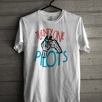 Twenty One Pilots Fingers Sign Shirt 21 -SWD T- Shirt For Man And Woman / T-Shirt / Custom T-Shirt
