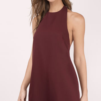 Revelry Halter Shift Dress