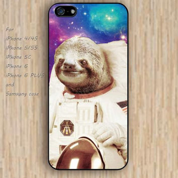 iPhone 5s 6 case Lazy astronaut fox dream catcher colorful phone case iphone case,ipod case,samsung galaxy case available plastic rubber case waterproof B588