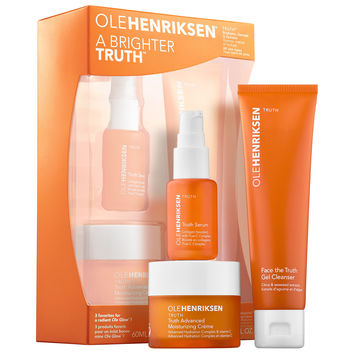 Sephora: OLEHENRIKSEN : A Brighter Truth™ Brightening Essentials Set : skin-care-sets-travel-value