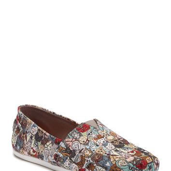 Skechers | Bobs Plush Band of Characters Slip-On Sneaker Cats and Dogs