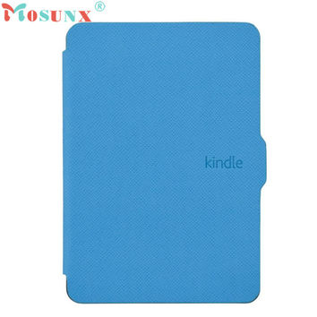 Mosunx Smart Ultra Slim Magnetic Case Cover For Kindle Paperwhite+Screen film