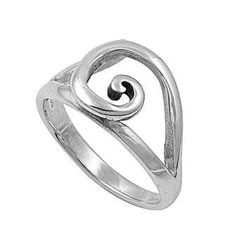 925 Sterling Silver First Cirlce of Rebirth Wicca Ring