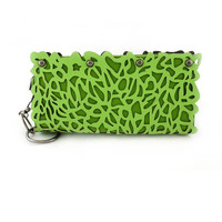 Happy Grass Laser-cut Clutch