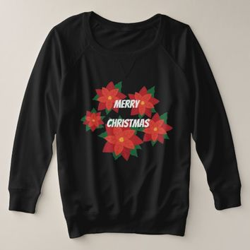 Merry Christmas Pointettia Shirt