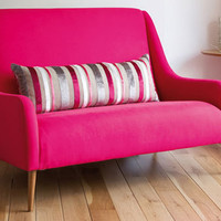 Retro To Go: Midcentury-style Miss Behaving sofa at Sofa Workshop