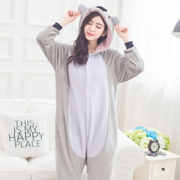 Cartoons Sleepwear Lovely Animal Couple Home Set Halloween Costume [9220975428]
