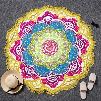 Wall Tapestries Indian  Mandalas Tapestry  Yoga Mat Blanket