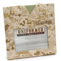 Uniformed Marfrm08 U.S. Marine Corps Single Frame, 4 by 6-Inch