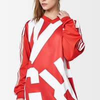 adidas Bold Age Oversized Long Sleeve Track T-Shirt at PacSun.com