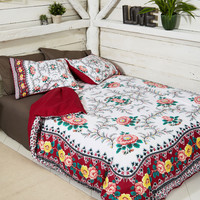 Of Heartland and Home Duvet Cover Set in Full/Queen | Mod Retro Vintage Decor Accessories | ModCloth.com