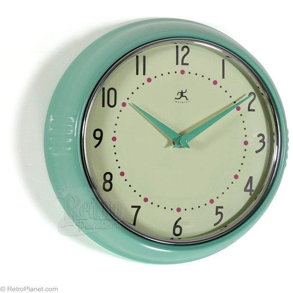 Clocks By Infinity Retro Kitchen Wall From Retroplanet Com