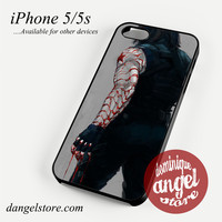Bucky Is Winter Soldier Phone case for iPhone 4/4s/5/5c/5s/6/6s/6 plus