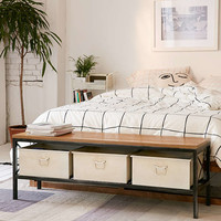 Fallon Storage Bench - Urban Outfitters