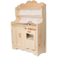 Sylvie's Tall Wooden Play Kitchen