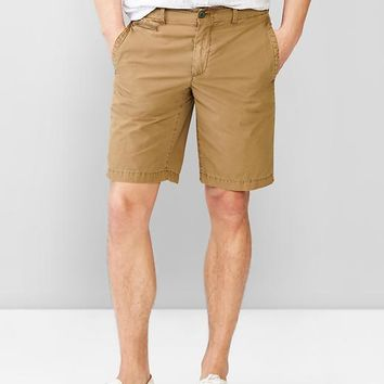 Solid Beach Shorts 10""